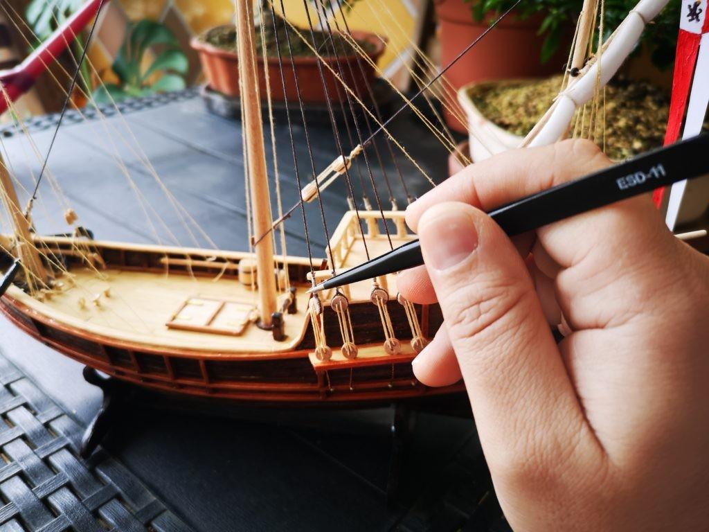 kits de iniciacion al modelismo naval