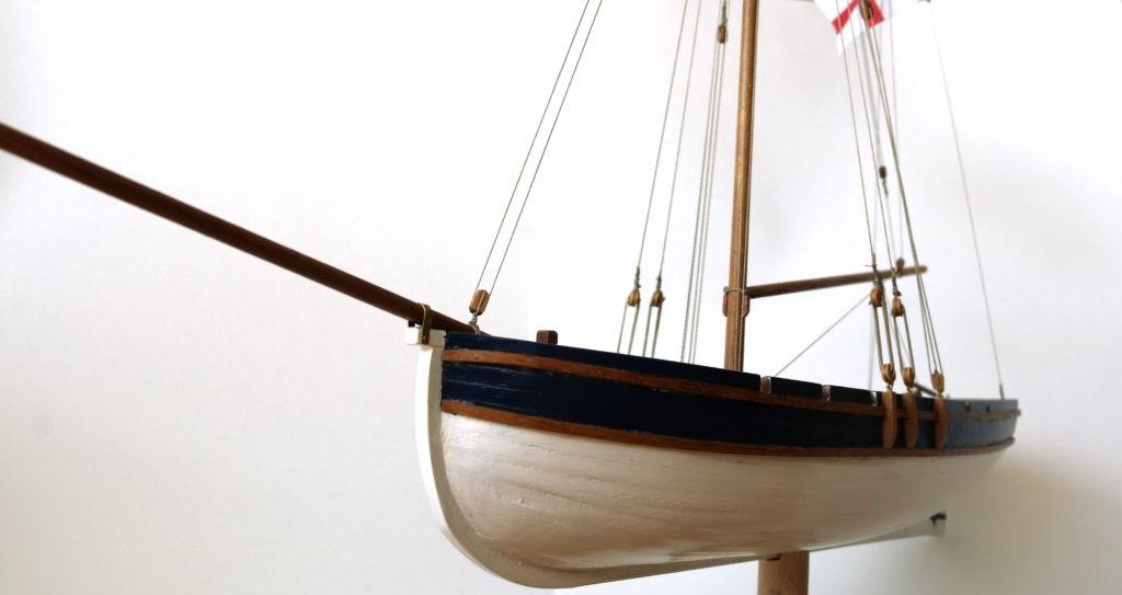 Lancha del Capitán del HMS Agamemnon